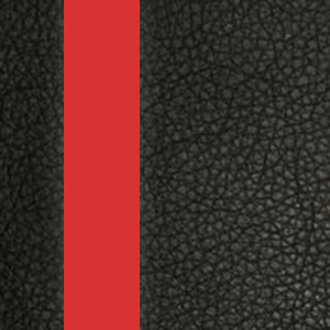Цвет: Иск. кожа черная / Вставки красный