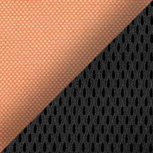 Цвет: Сетка TW-66 оранж. / Ткань TW-11 черн.