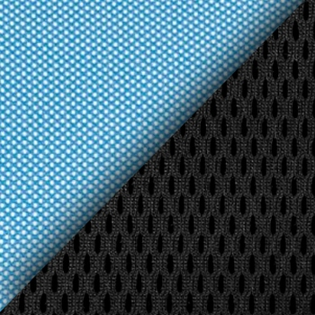 Цвет: Сетка TW-34 голуб. / Ткань TW-11 черн