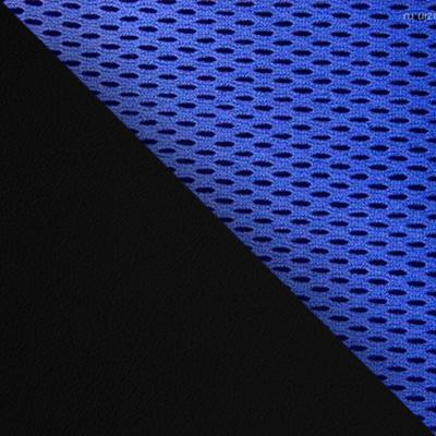 Цвет: Иск.кожа черная / Ткань синяя, 36-6/10