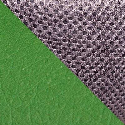 Цвет: Кож/зам/ткань, зеленый / серый, 36-001/12