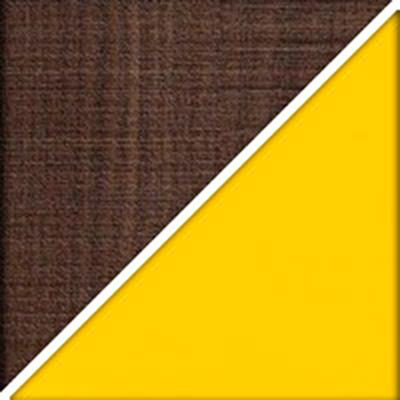 Цвет: Мадейра темная / Желтый