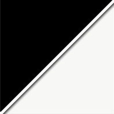 Цвет: Черный / Стекло белое