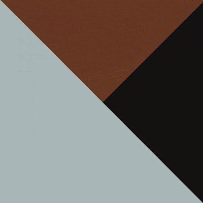 Цвет: Серый, пластик / Коричневый / Черный