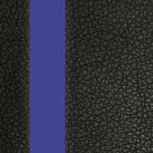 Цвет: Иск. кожа черная / Вставки синий
