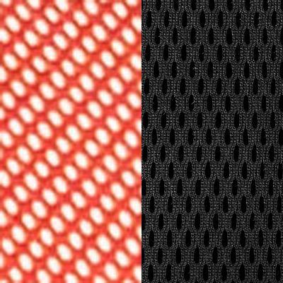 Цвет спинки: TW-69 красная сетка; Цвет сиденья: TW 11 (черный)