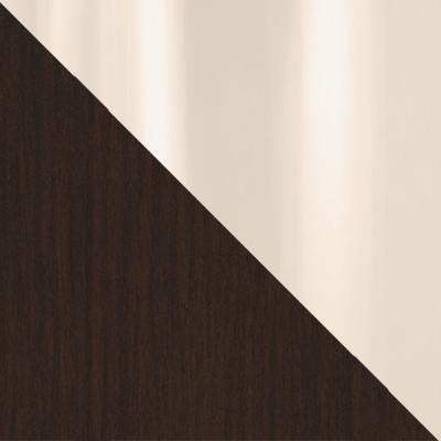 Цвет: Венге / Бежевое стекло глянец; Размер: Малый