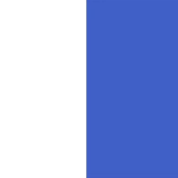 Белый/Светло-синий