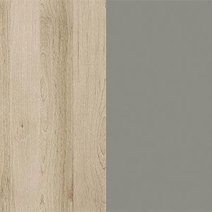 бук песочный/шифер серый