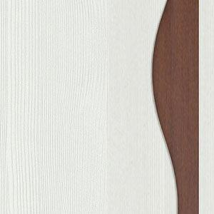 рамух белый/рамух белый/орех донской