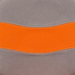 Серая/оранжевая, с27/с23