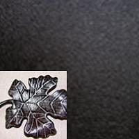 Черный, патина серебро