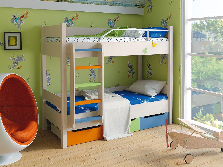 Двухъярусные кровати Корвет