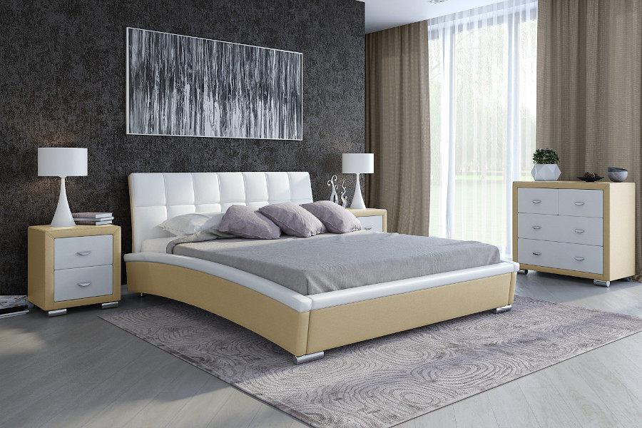 Кожаная кровать Орматек Corso-1