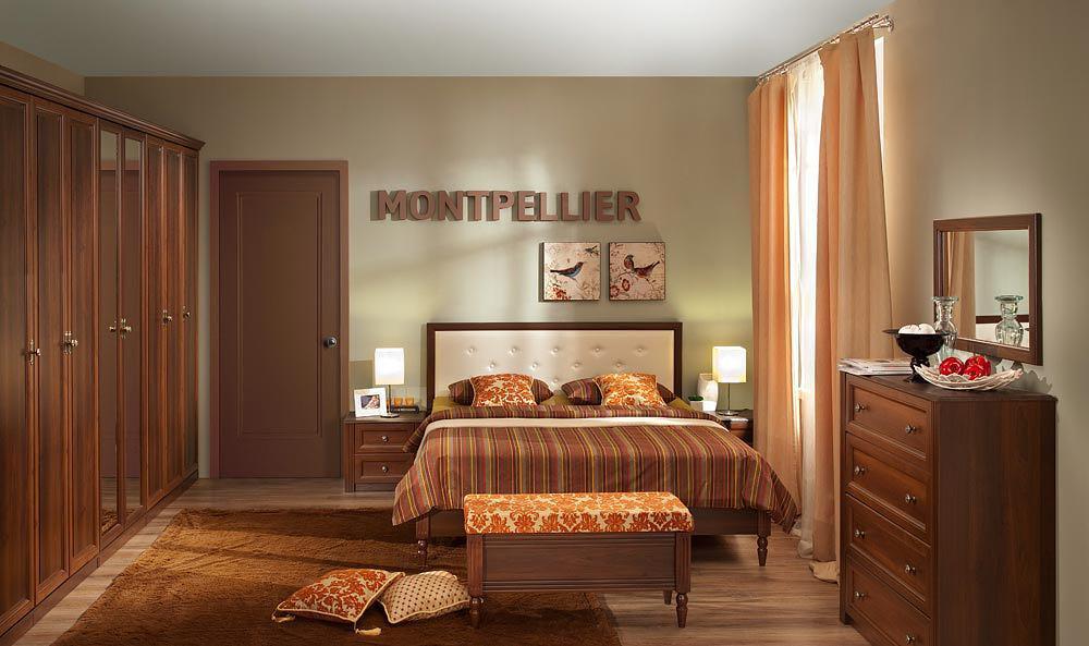 Спальня Глазов Montpellier орех шоколад