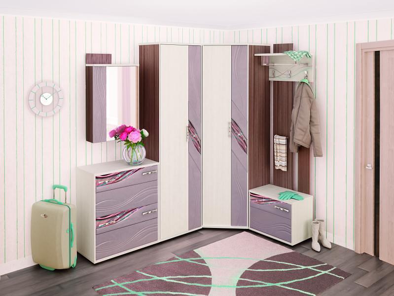 Набор мебели для прихожей Витра Лаура