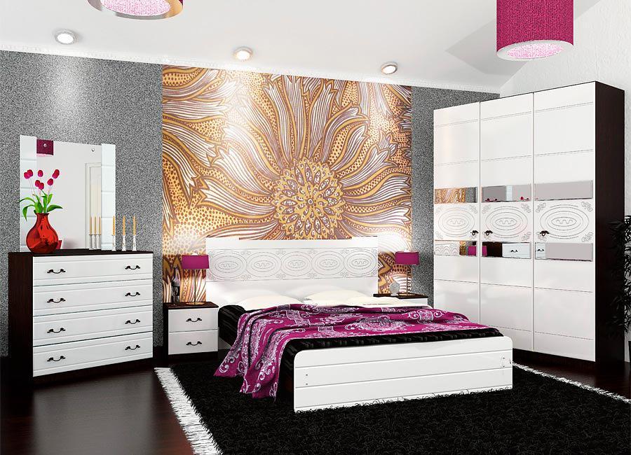 Мебель для спальни VitaMebel Vivo-8 (глянец)