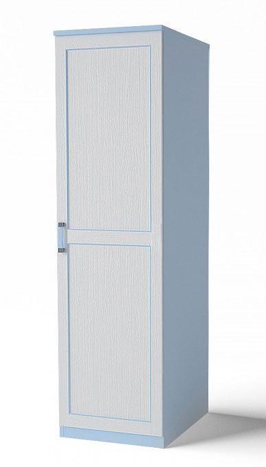 Шкаф-пенал для одежды Аква Родос Voyage 1 (голубой)
