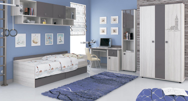 Комплект мебели для детской Интеди Хэппи №2