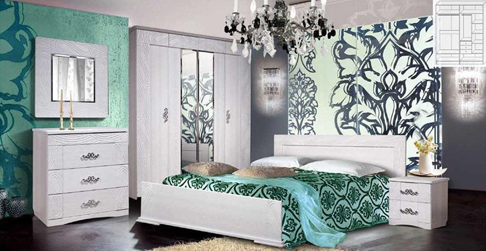 Спальня КМК Нимфа