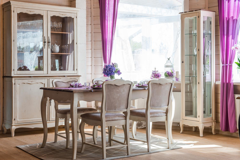 Гостиная Mobilier de Maison Belveder Blanc Bonbon