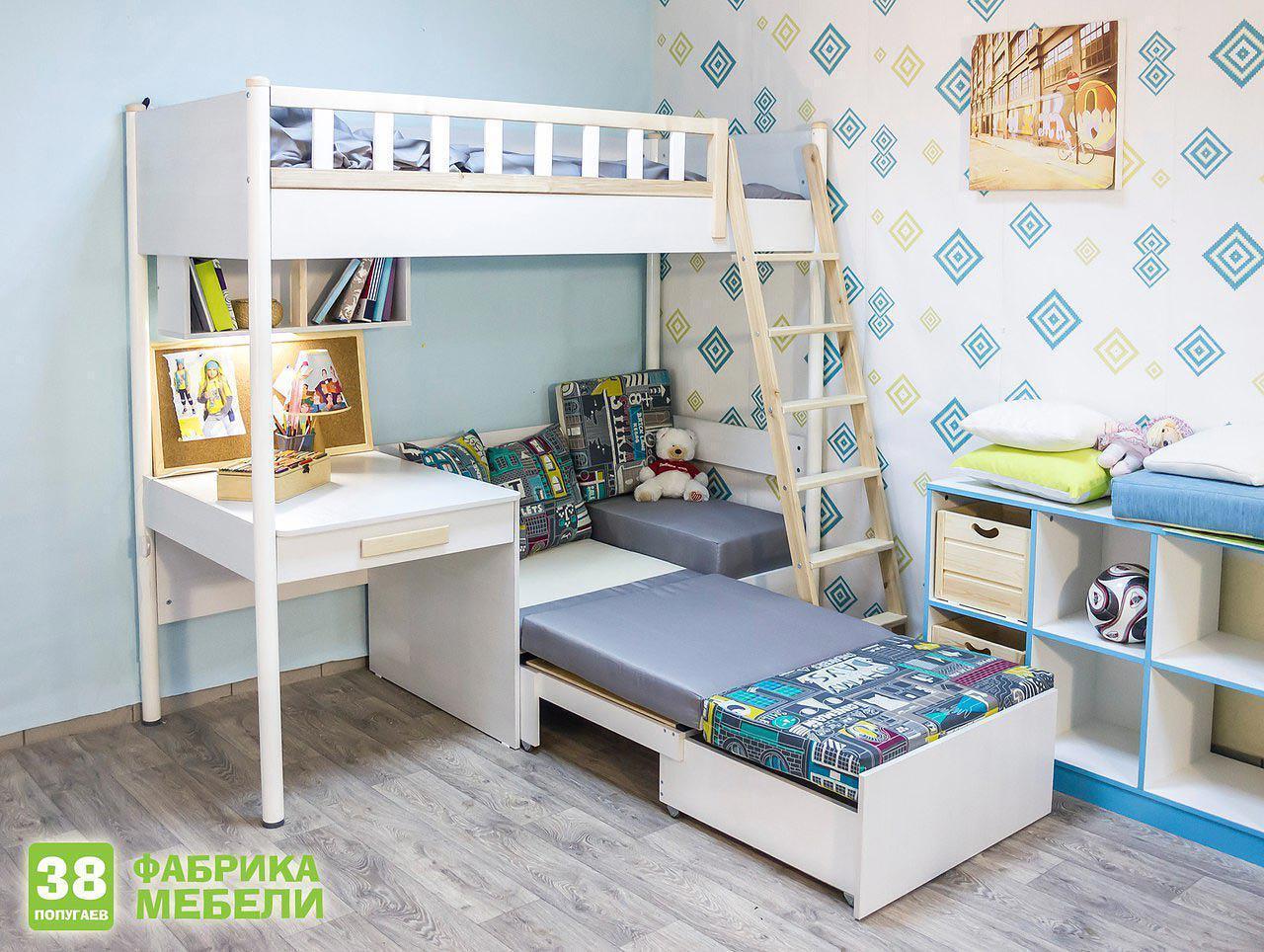 Детская мебель 38 попугаев Феникс