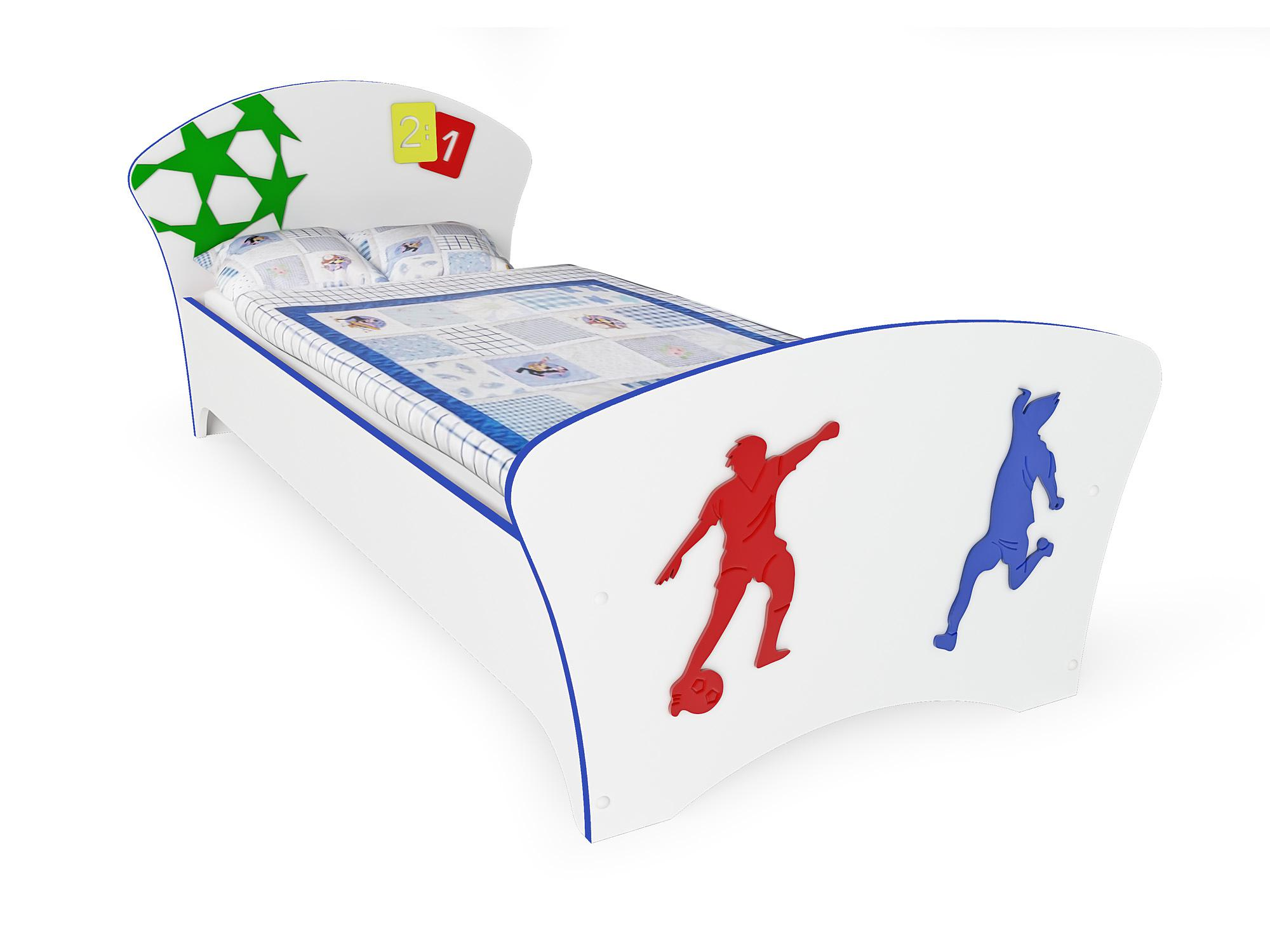футбол (синяя кромка)