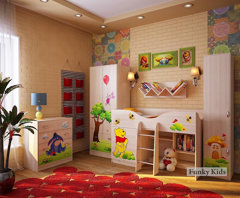 Детская мебель Фанки Винни Пух