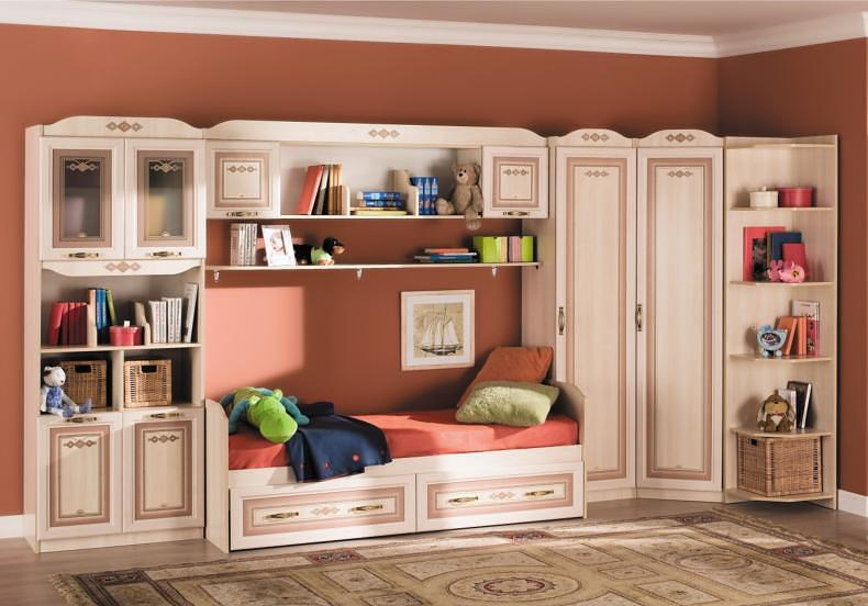 Детская мебель Аврора Любимый дом
