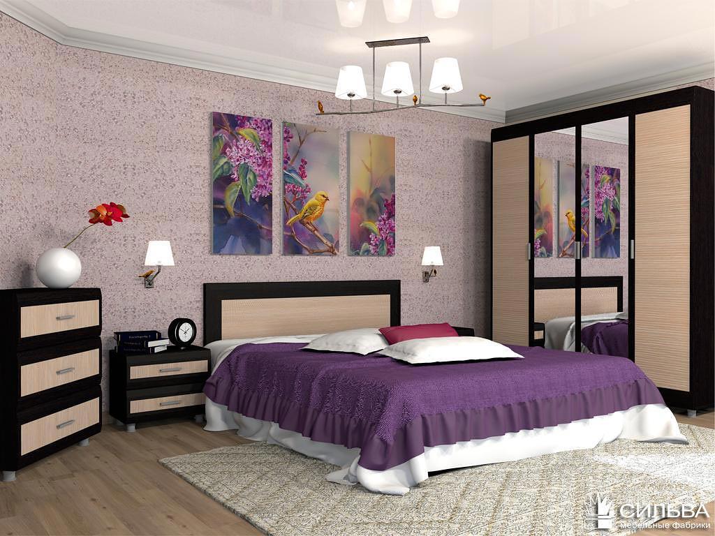 Спальня Сильва Капри