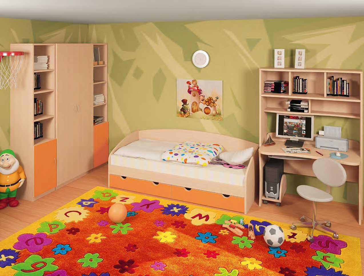 Детские кровати для разнополых детей 3