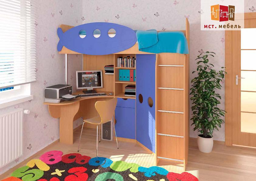Вариант для маленькой детской комнаты