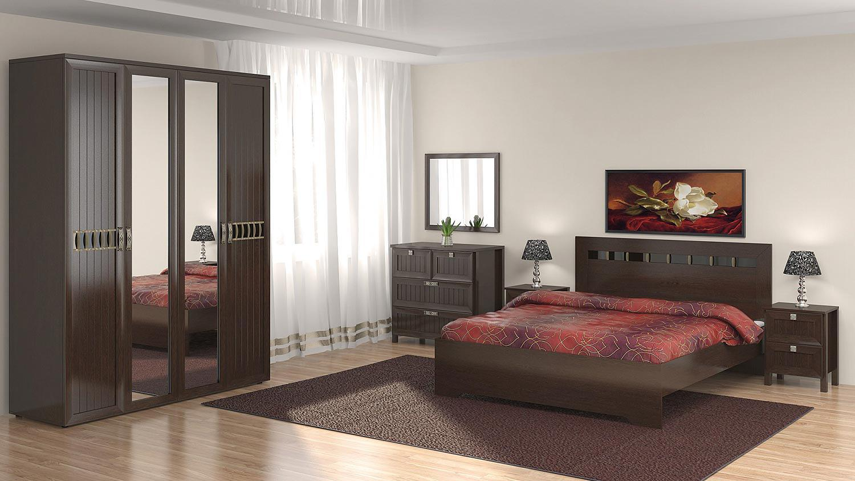 Спальня Интеди Соната венге