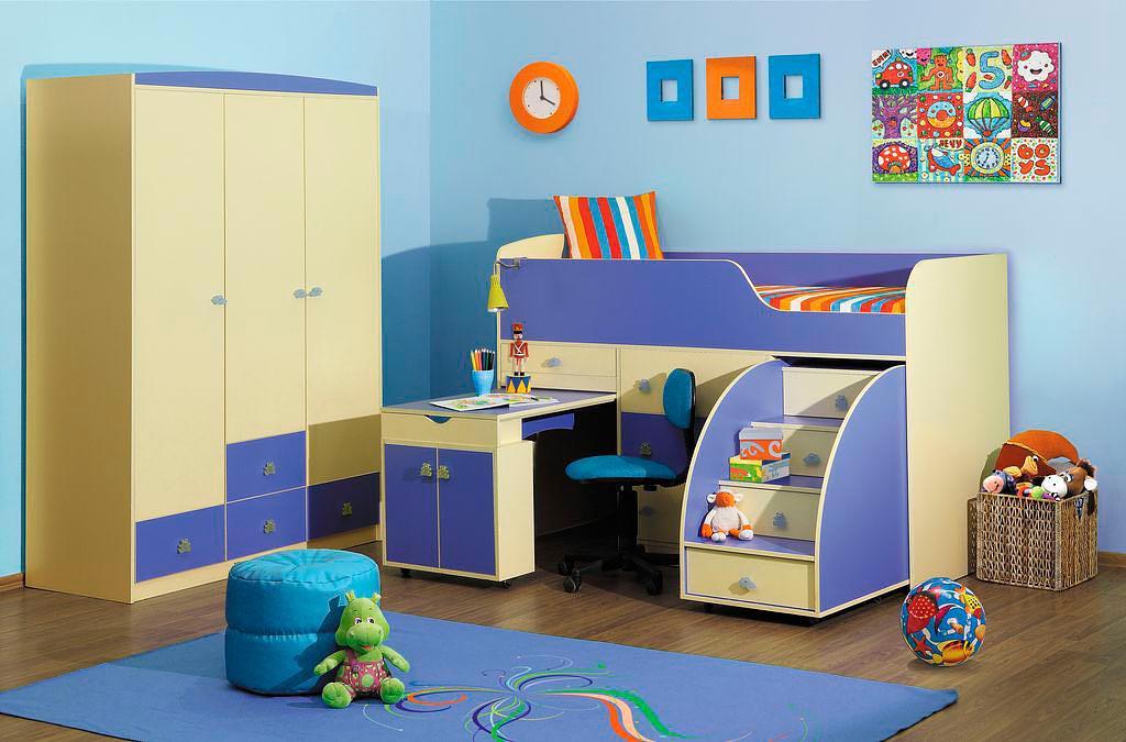 Детская мебель Элегия Радуга